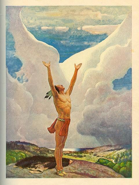 white cloud prayer